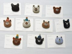Bear Brooch | by Felt Fulling Lab