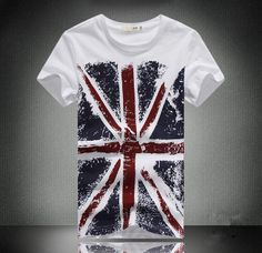 Men's T-Shirt UK Flag