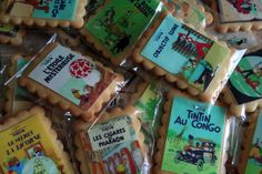 ..Tintin B-Day!!!! the cookies