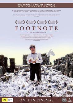 6. Footnote (Joseph Cedar, 2011)