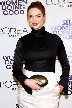 Christina Hendricks at Self magazines Women Doing Good Awards