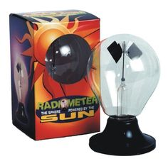 Tedco Toys Radiometer -- the sphere powered by the sun -- teaches kids about solar energy!