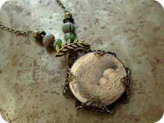 Tree top necklace tutorial - and its so GORGEOUS!