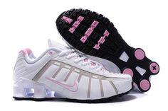 Dame Nike Shox NZ V3 Hvid Pink