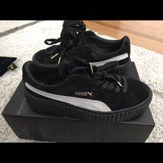 a910f293a00 Puma Shoes | Rihanna X Puma Fenty Collection | Color: Black | Size: 7.5