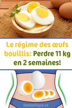 Le régime des œufs bouillis: Perdre 11 kg en 2 semaines! Menu Detox, Detox Juice Recipes, Health Programs, Weight Loss Tips, How To Lose Weight Fast, Cantaloupe, Health Fitness, Nutrition, Breakfast