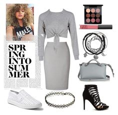 """""""Untitled #27"""" by inimas on Polyvore featuring John Lewis, Steve Madden, Fendi, NARS Cosmetics and MAC Cosmetics"""