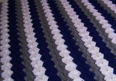 crochet yankees blanket - Google Search