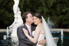 Let's Get Married: Sabrina + Dan {Wedding Portrait Recreation} // Kristen Renee Photography