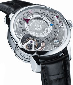 Greubel Forsey Tourbillon Invention Piece 3 RG Silve Dream Watches, Luxury Watches, Cool Watches, Watches For Men, Men's Watches, Tourbillon Watch, Mens Gear, Beautiful Watches, High Jewelry
