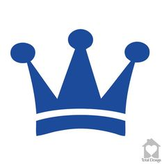 Items similar to King crown - simple blue crown - simple royal boys crown - clean blue royal crown decal royal art - on Etsy Happy Birthday Banner Printable, Happy Birthday Banners, Machine Silhouette Portrait, Baby Silhouette, King Queen Tattoo, Scan And Cut, Silhouette Cameo Projects, Kawaii Drawings, Card Tags