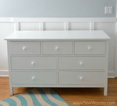 12 Free DIY Woodworking Plans for Building Your Own Dresser: Free Dresser Plan from Ana White