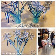 Compleanno a tema Frozen e coroncine di follia ~ KeVitaFarelamamma