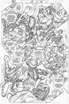 X-Men: The Hidden Years #17, page 14 - Pencils by John Byrne - 2001.