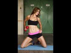 Tone your upper body - YouTube