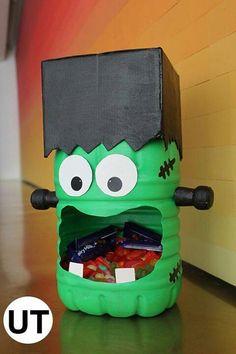 Juice jug and a cardboard shoe box