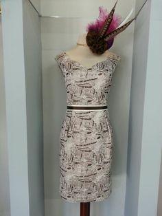 Vestido de fiesta, ideal para bodas y eventos especiales! http://www.scalacostura.com #fiesta #madrinas #novias #moda2014 #fashion #moda #dress #partydress #wedding