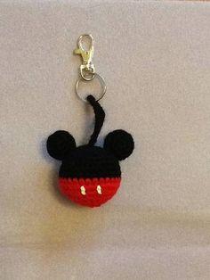 Mickey keychain