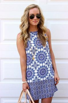 Charming Sundresses for Women to Enhance Your Look | Sundresses for women | Cute Outfits | Summer Outfits | Spring Outfits | Fenzyme.com