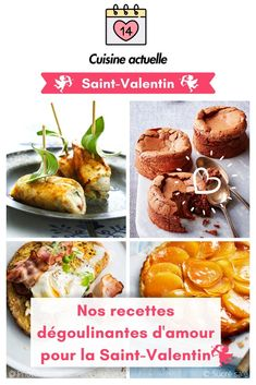 Nos recettes dégoulinantes d'amour pour la Saint-Valentin, Saint-Valentin,  dégoulinantes d'amour,  recette facile de dégoulinantes d'amour, dîner en amoureux, repas saint valentin débutant, plat saint valentin, saint valentin repas maison, repas express, saint valentin, repas saint pour la santé, repas amoureux, recette pour la st valentin, amoureux, Aphrodisiaque French Toast, Muffin, Baking, Breakfast, Ethnic Recipes, Fondue, Images, Diy, Cooker Recipes