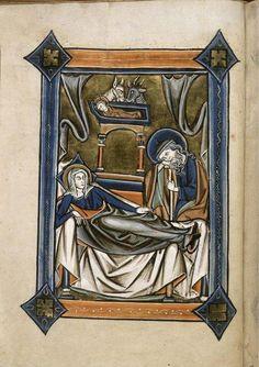 """Grumpy animals at the Nativity in @blmedieval Royal 2 B iii. #MedievalAdvent"""