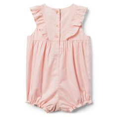 880c9920c009a Newborn Blush Embroidered Ruffle 1-Piece by Janie and Jack