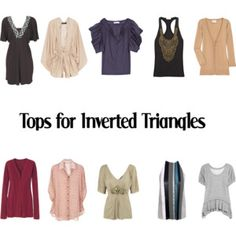 Tops for Inverted Triangles