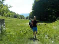 Hiking through the superb mountains of Montenegro. Mountain Hiking, Montenegro, Kanken Backpack, Mountains, Bergen