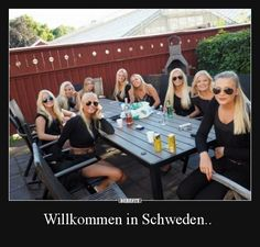 Welcome to Sweden . Funny Images, Funny Pictures, Funny Pics, Funny Jokes, Ctrl C Ctrl V, Welcome To Sweden, Demotivational Posters, Funny Tattoos, Having A Bad Day