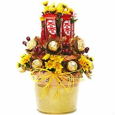 Brighten your special occasions with this bright and sunny basket. http://www.tajonline.com/valentines-day-gifts/product/v3284/sunny-basket-of-joy/?aff=pint2014/