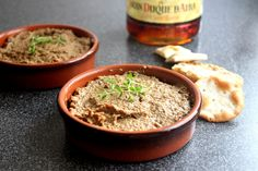 Chicken liver pate! Easy to make and very good!