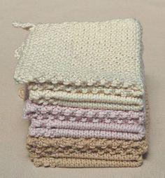 Wedding Washcloths | Purl Soho