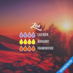 Zen — Essential Oil Diffuser Blend #Essentialoildiffusers