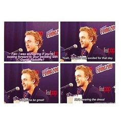 Drarry [ his reaction on the question is funnier on the video. you should find it]