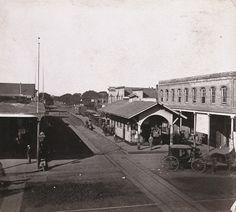 Broadway at 7th Railroad Station Oakland CA