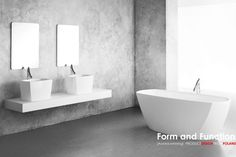 'Form and Function' PRODUCT DESIGN FROM POLAND ISH 2015 | EXSPACE / Isar Collection design: Marmorin Design Studio | www.marmorin.pl manufacturer: Marmorin (Hall 4.2 C41) www.marmorin.pl