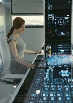 Spaceship Interior, Futuristic Interior, Futuristic Design, Futuristic Architecture, Oblivion 2013, Oblivion Movie, New Technology Gadgets, Futuristic Technology, Mago Anime