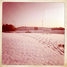 Snowy stansted