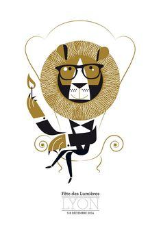 Georges le lion, Fêtes des lumières, Diable! Petite manufacture Lion, Minnie Mouse, Disney Characters, Fictional Characters, Teddy Bear, Animals, Illustrations, Art, Letterpress Printing