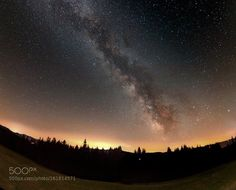 Milky Way  Milky Way Moravian-Silesian Beskids panorama  Camera: Canon EOS 70D Lens: Tokina ATX 11-16 2.8 Focal Length: 11 mm ISO/Film: 5000  Image credit: http://ift.tt/29y1DD8 Visit http://ift.tt/1qPHad3 and read how to see the #MilkyWay  #Galaxy #Stars #Nightscape #Astrophotography