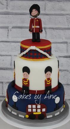 Queen's Guard cake