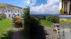 Traditional Fisherman's Cottage on the Stunning Isle of Arran overlooking the Mull of Kintyre.