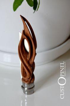 Couteau Opinel Custom Knife N°8 Olivier Lame Inox | eBay