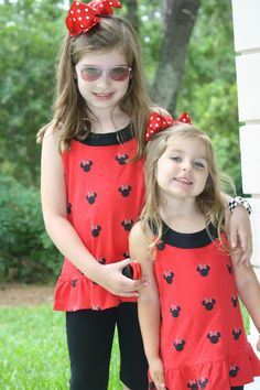 LN Smockadot Kids Disney Minnie Mouse Capri Knit Outfit Size 6 7 | eBay