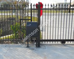 Slide Gate Openers We at Larry Johnson Services, specialized in Gate Automation work. Slide Gate opener is one of the most famous and commonly used Gate Opener like Swing Gate Opener. Swing Gate Opener, Gate Openers, Gate Automation, Larry Johnson, Outdoor Spaces, Canada, Free, Outdoor Rooms