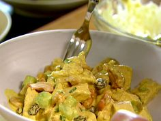Curried Chicken Salad Recipe : Ina Garten : Food Network - FoodNetwork.com