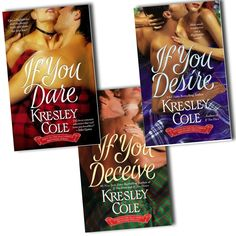 Kresley Cole Maccarrick brothers trilogy 3 Books Collection Pack Set RRP: £23.97