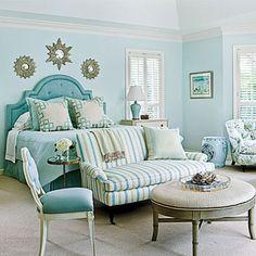 Blue Rooms: Tour a Fabulous Florida Vacation Home | Decorating Files | decoratingfiles.com