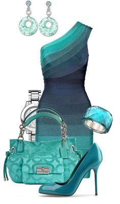 Ideas de outfits... Vestidos elegantes. Colores puros y estampados...