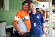 José and Storehouse manager Reed Slattery started training together for a half marathon, which they ran in June for Team World Vision.